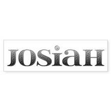 Josiah Carved Metal Bumper Bumper Bumper Sticker