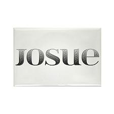 Josue Carved Metal Rectangle Magnet