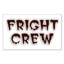 Fright Crew Halloween Decal