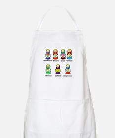 Russian Days of the Week Apron