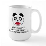 Engrish Panda Large Mug