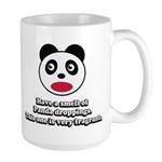 Engrish Panda Large Mug