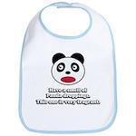 Engrish Panda Bib