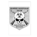 Zombie Response Team: Indianapolis Division Postca