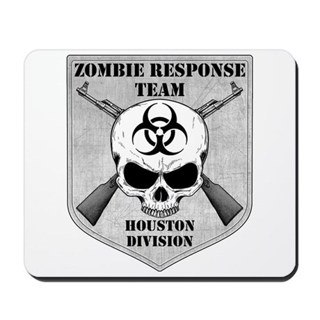 Zombie Response Team: Houston Division Mousepad