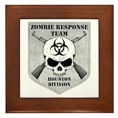 Zombie Response Team: Houston Division Framed Tile