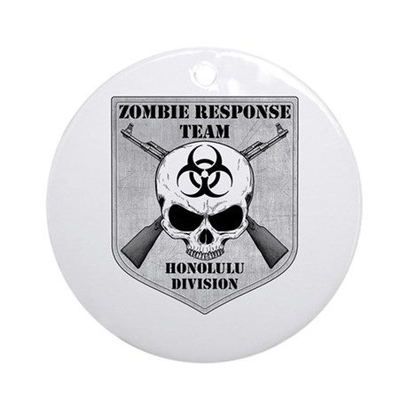 Zombie Response Team: Honolulu Division Ornament (