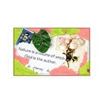 Nature Quote Collage 35x21 Wall Decal