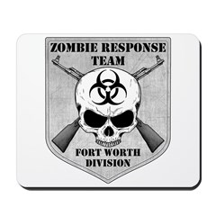 Zombie Response Team: Fort Worth Division Mousepad