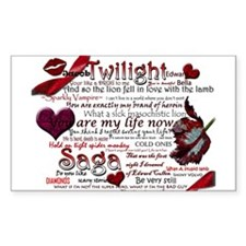 Twilight Quotes Decal