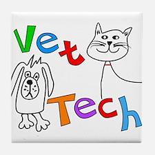 Veterinary Tile Coaster