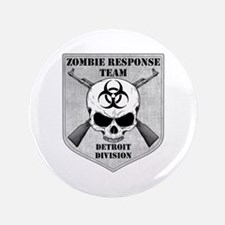 "Zombie Response Team: Detroit Division 3.5"" Button"