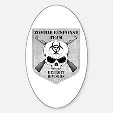 Zombie Response Team: Detroit Division Decal