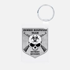 Zombie Response Team: Detroit Division Keychains