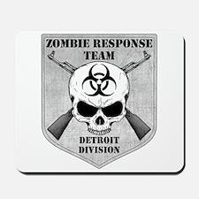 Zombie Response Team: Detroit Division Mousepad