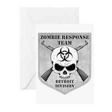 Zombie Response Team: Detroit Division Greeting Ca