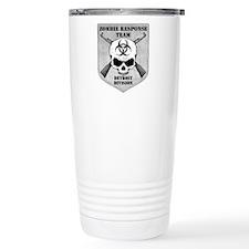 Zombie Response Team: Detroit Division Travel Mug