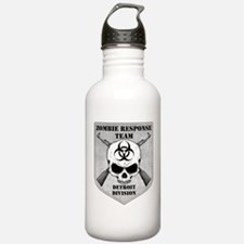 Zombie Response Team: Detroit Division Water Bottle