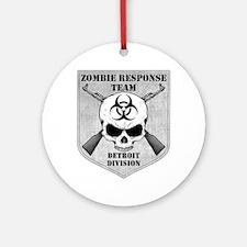 Zombie Response Team: Detroit Division Ornament (R