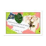 Nature Quote Collage Mini Poster Print