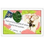 Nature Quote Collage Large Poster