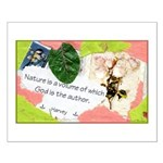 Nature Quote Collage Small Poster