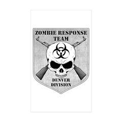 Zombie Response Team: Denver Division Decal