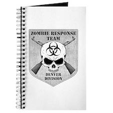 Zombie Response Team: Denver Division Journal