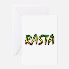 Rasta Greeting Card