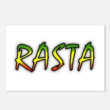 Rasta Postcards (Package of 8)