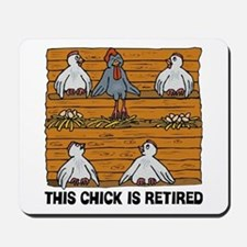 Retired Chick Mousepad