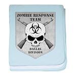 Zombie Response Team: Dallas Division baby blanket