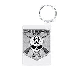 Zombie Response Team: Dallas Division Keychains