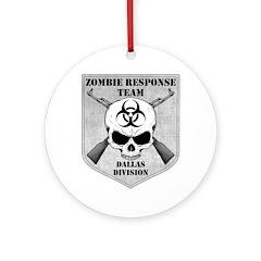 Zombie Response Team: Dallas Division Ornament (Ro