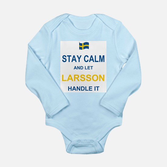 Stay calm and let Lars Long Sleeve Infant Bodysuit
