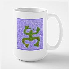 Coqui Taino Symbol Large Mug