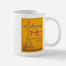Vintage Eiffel Tower Mug