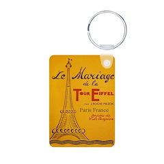 Vintage Eiffel Tower Keychains