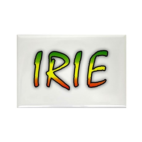 Irie Rectangle Magnet (100 pack)