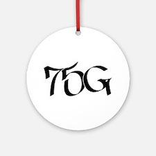 75G Graffiti Ornament (Round)