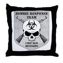 Zombie Response Team: Chicago Division Throw Pillo