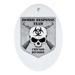 Zombie Response Team: Chicago Division Ornament (O