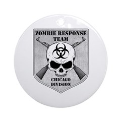 Zombie Response Team: Chicago Division Ornament (R