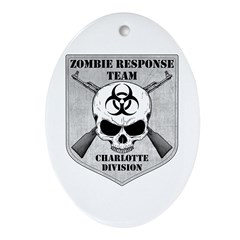 Zombie Response Team: Charlotte Division Ornament