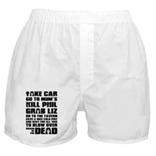 Shaun of the Dead Take Car ... Boxer Shorts