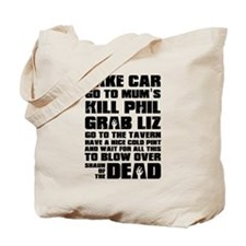 Shaun of the Dead Take Car ... Tote Bag