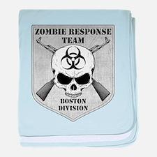 Zombie Response Team: Boston Division baby blanket