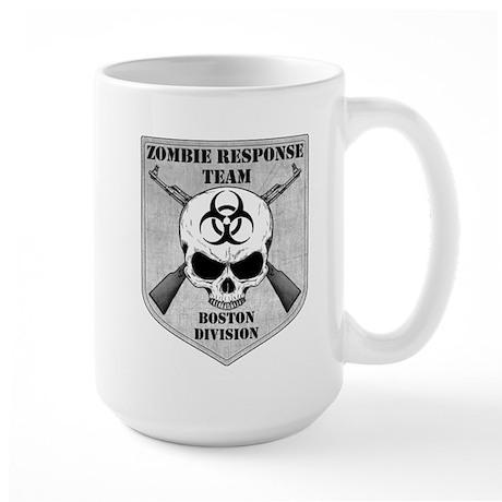 Zombie Response Team: Boston Division Large Mug
