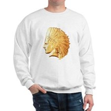Gold Indian Sweatshirt