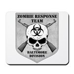 Zombie Response Team: Baltimore Division Mousepad